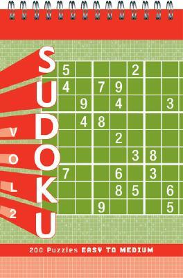 Sudoku Vol. 2 Puzzle Pad: Easy to Medium Cover Image