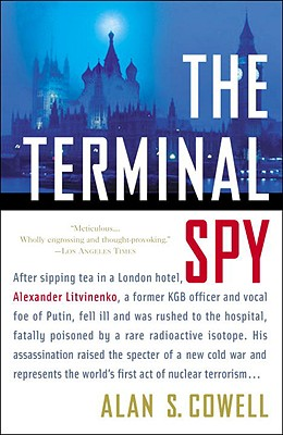 The Terminal Spy: A True Story of Espionage, Betrayal, and Murder Cover Image