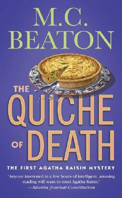 Cover for The Quiche of Death