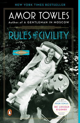 Rules of Civility Amor Towles, Penguin, $17,