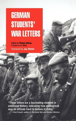 German Students' War Letters (Pine Street Books) Cover Image