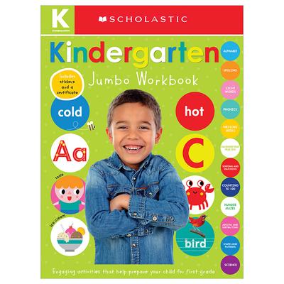 Kindergarten Jumbo Workbook: Scholastic Early Learners (Jumbo Workbook) Cover Image