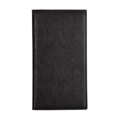 Christian Lacroix Heritage Collection Black Paseo Embossed Travel Journal Cover Image