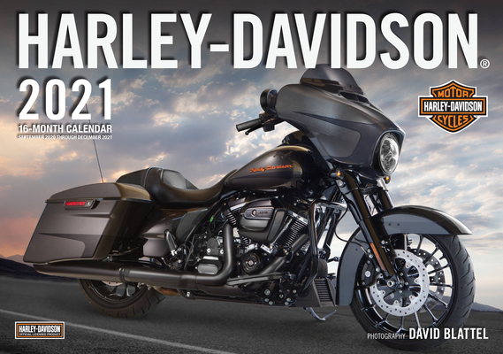 Harley-Davidson® 2021: 16-Month Calendar - September 2020 through December 2021 Cover Image