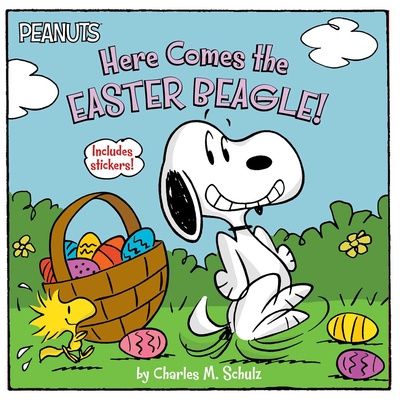 Here Comes the Easter Beagle! [With Sheet of Stickers] (Peanuts) Cover Image