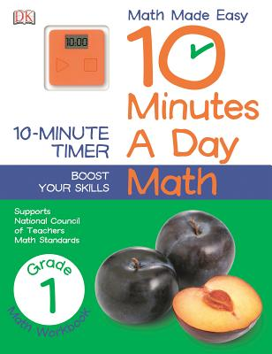10 Minutes a Day: Math, First Grade: Supports National Council of Teachers Math Standards Cover Image