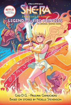 Legend of the Fire Princess (She-Ra Graphic Novel #1) Cover Image