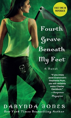 Cover for Fourth Grave Beneath My Feet (Charley Davidson #4)