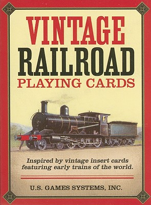 Vintage Railroad Card Game Cover Image