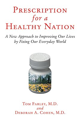Prescription for a Healthy Nation Cover