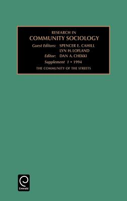 Community of the Streets (Research in Community Sociology #1) Cover Image