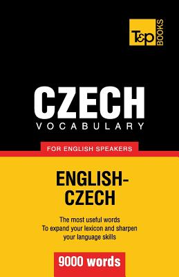 Czech vocabulary for English speakers - 9000 words Cover Image
