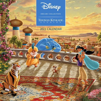 Disney Dreams Collection by Thomas Kinkade Studios: 2022 Wall Calendar Cover Image