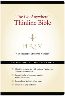 Go-Anywhere Thinline Bible-NRSV-Personal Size Cover Image