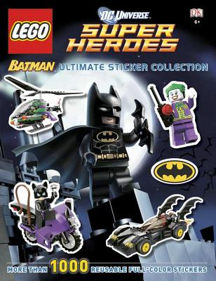 DC Universe Super Heroes Lego Batman Ultimate Sticker Collection Cover