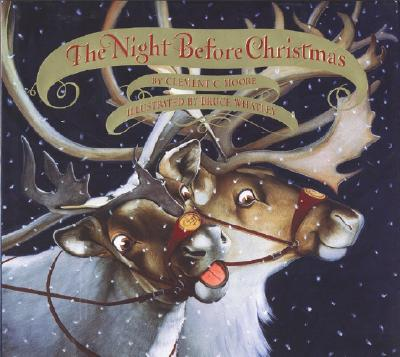 The Night Before Christmas Board Book Cover Image