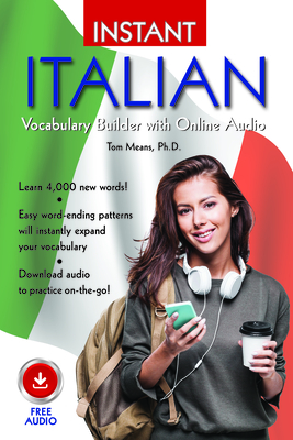 Instant Italian Vocabulary Builder with Online Audio Cover Image