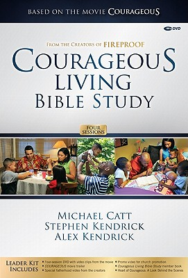 Courageous Living Bible Study Leader Kit [With DVD] Cover