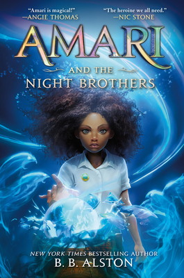 Amari and the Night Brothers (Supernatural Investigations #1) Cover Image