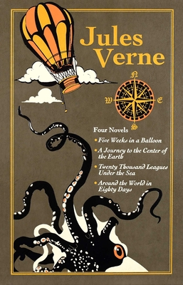 Jules Verne (Leather-bound Classics) Cover Image