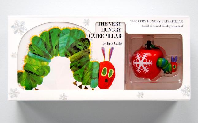 The Very Hungry Caterpillar Board Book and Ornament Package Cover Image