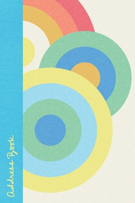 Address Book: Large Print Alphabet Tabs Emergency Contacts Old Fashioned Circles Cover Image