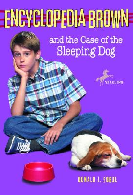 Encyclopedia Brown and the Case of the Sleeping Dog Cover