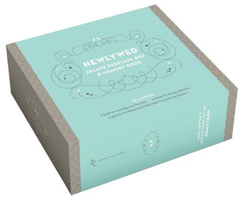 Newlywed Deluxe Keepsake Box & Memory Book Cover Image