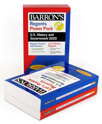 Regents U.S. History and Government Power Pack 2020 (Barron's Regents NY) Cover Image