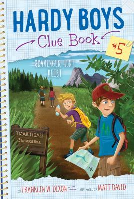 Scavenger Hunt Heist (Hardy Boys Clue Book #5) Cover Image