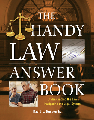 Cover for The Handy Law Answer Book (Handy Answer Books)
