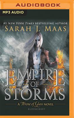 Empire of Storms (Throne of Glass #5) Cover Image
