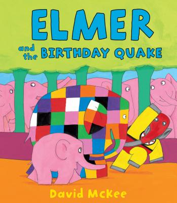 Elmer and the Birthday Quake Cover