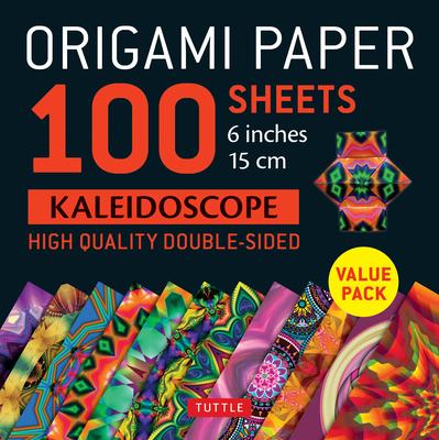 Origami Paper 100 Sheets Kaleidoscope 6