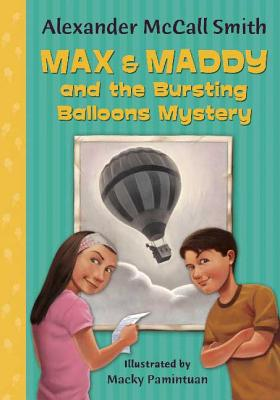 Cover for Max & Maddy and the Bursting Balloons Mystery