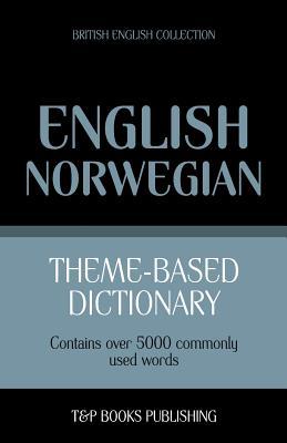 Theme-based dictionary British English-Norwegian - 5000 words Cover Image