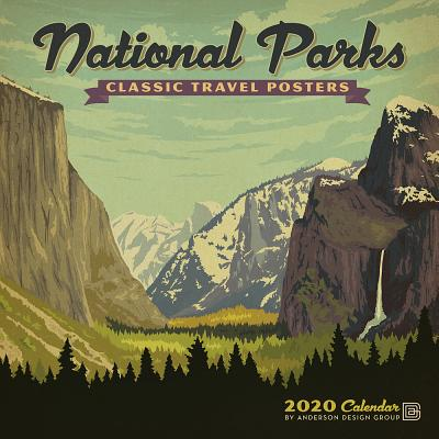 Cal 2020-National Parks Classic Posters Wall Cover Image