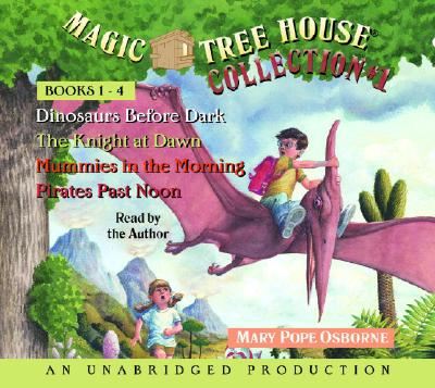 Magic Tree House Collection Books 1-4 Cover