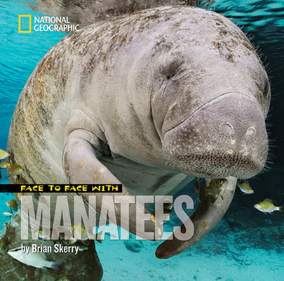 Face to Face with Manatees Cover Image