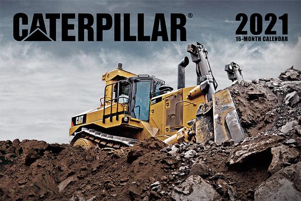 Caterpillar Calendar 2021 Cover Image