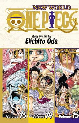 One Piece (Omnibus Edition), Vol. 25: Includes vols. 73, 74 & 75 Cover Image