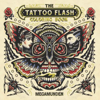 The Tattoo Flash Coloring Book cover image