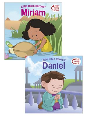 Cover for Miriam/Daniel Flip-Over Book (Little Bible Heroes™)