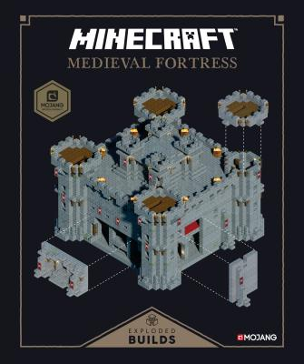 Minecraft: Exploded Builds: Medieval Fortress: An Official Mojang Book Cover Image