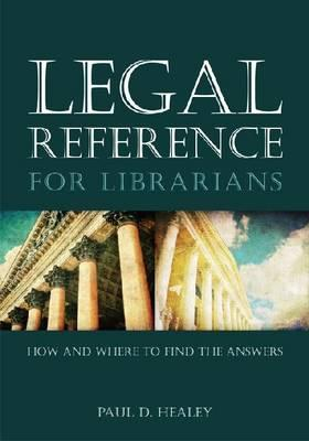 Cover for Legal Reference for Librarians