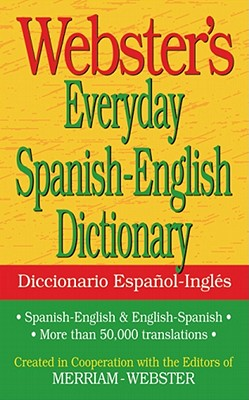 Webster's Everyday Spanish-English Dictionary Cover Image