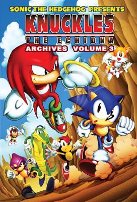 Sonic the Hedgehog Presents Knuckles the Echidna Archives, Volume 3 Cover