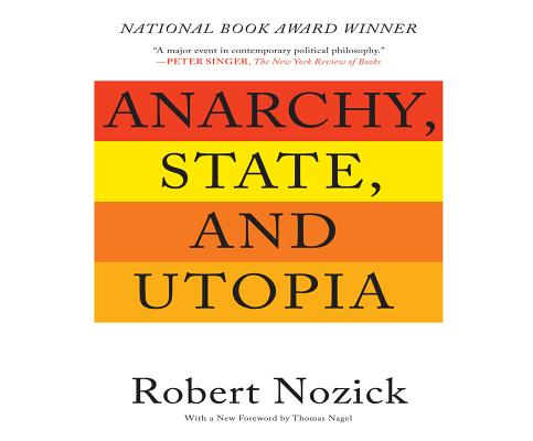 Cover for Anarchy, State, and Utopia