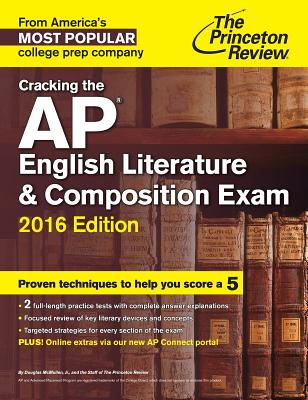 Cracking the AP English Literature & Composition Exam Cover Image