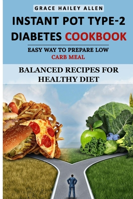 Instant Pot Type 2 - Diabetes Cookbook Easy Way to Prepare Low Carb Meal: Balanced Recipes for Healthy Diet cover